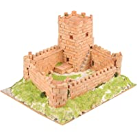 Keranova- Kit de cerámica Castillo Medieval, Color marrón