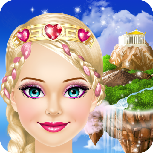 Dress Up And Make Up Game (Fantasy Princess Salon: Spa, Makeup and Dress Up Game for Girls)
