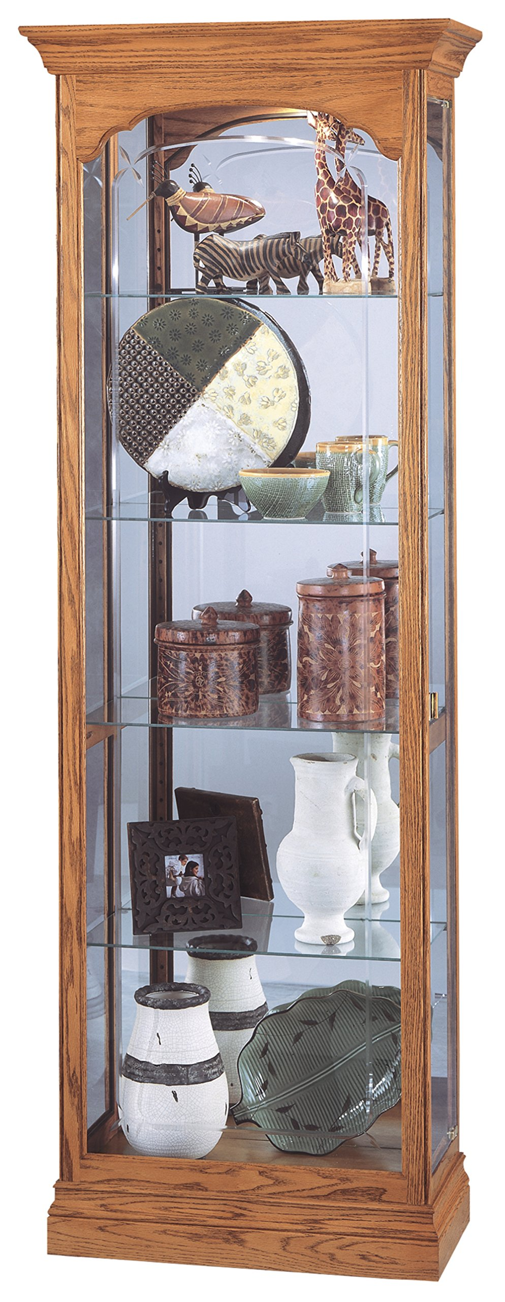 Howard Miller 680-341 Torrington Curio Cabinet by Howard Miller