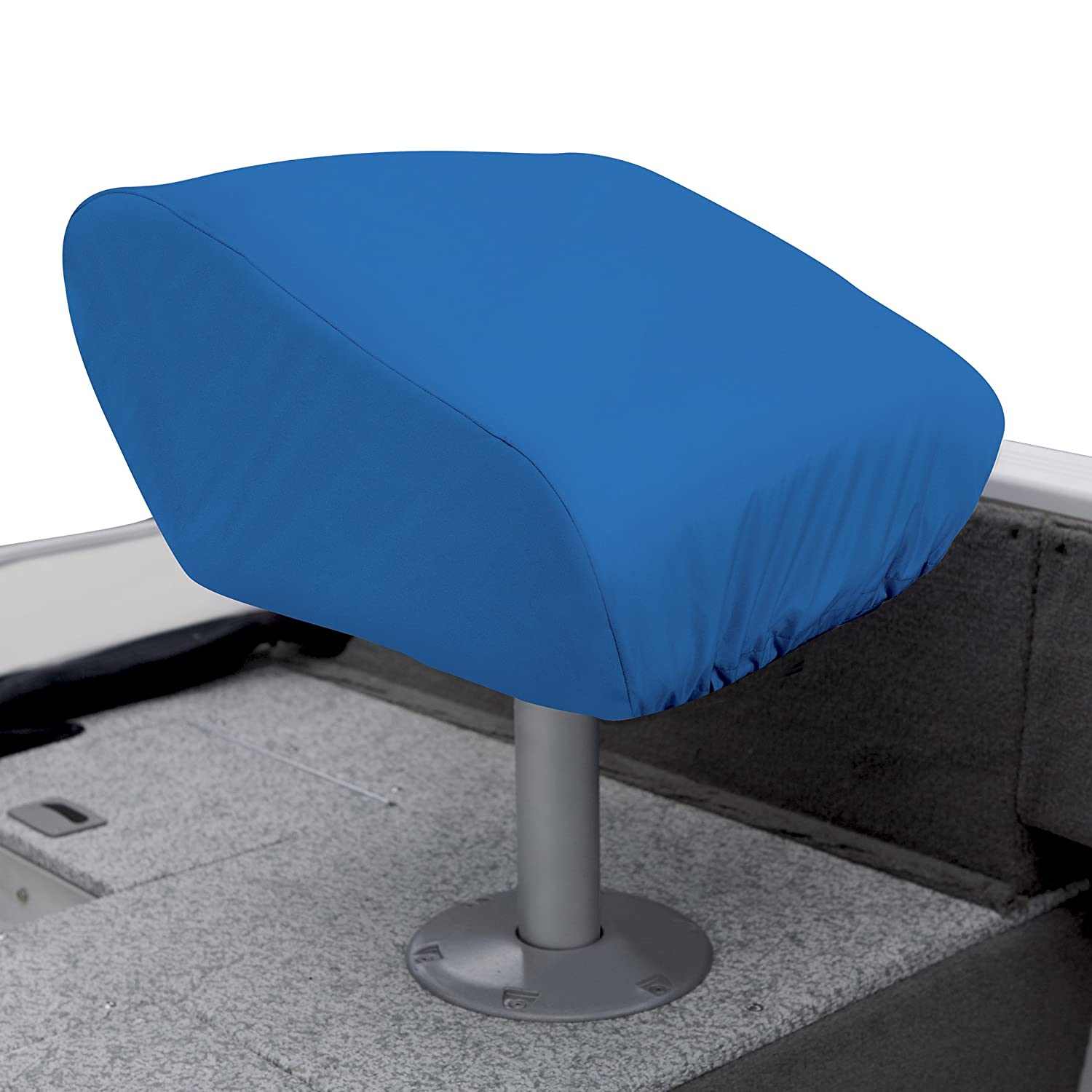 boat pontoonstuff com seats seat pedestal charcoal products gray blue pontoon