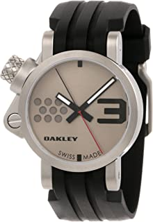 81gDaMiH7mL._AC_UL320_SR220320_ amazon com oakley men's 26 301 swiss quartz stainless steel watch oakley fuse box watch at gsmx.co
