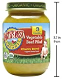 Earth's Best Organic Stage 3 Baby Food, Vegetable
