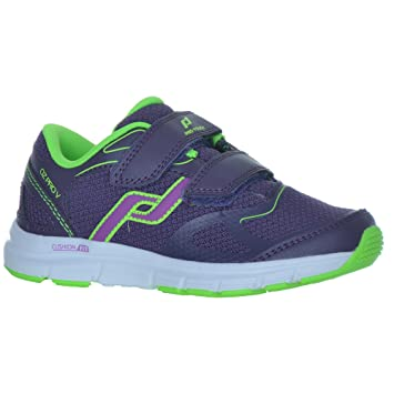 Intersport Pro Touch Zapatillas de Run oz Pro V Velcro Jr - Lila/Color Verde: Amazon.es: Deportes y aire libre