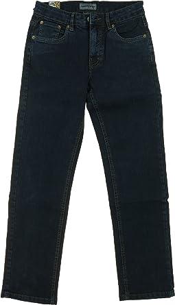Urban Star Boy/'s Jeans Regular Fit Black
