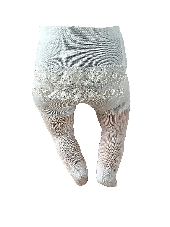 Chicco Socken Taufsocken mit R/üschen Ivory