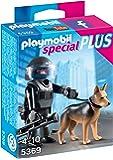 PLAYMOBIL 5369 - SEK-Polizist mit Hund