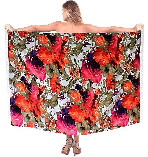 sarong costume da bagno involucro donne vestito coprire beachwear signore vestito di pannello estern...