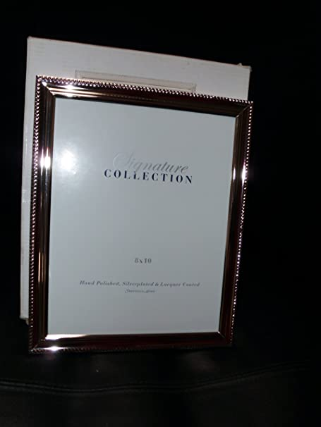 Sheffield Signature Collection Silver Plated Picture Frame 8 X 10