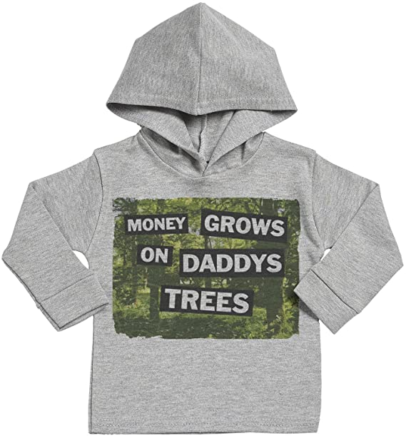 Amazon.com: SR – Money Grows On Daddys Trees Baby sudadera ...