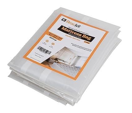 Bolsa para colchón para mudanzas, alta resistencia, tamaño doble, 500 gramos 231 x