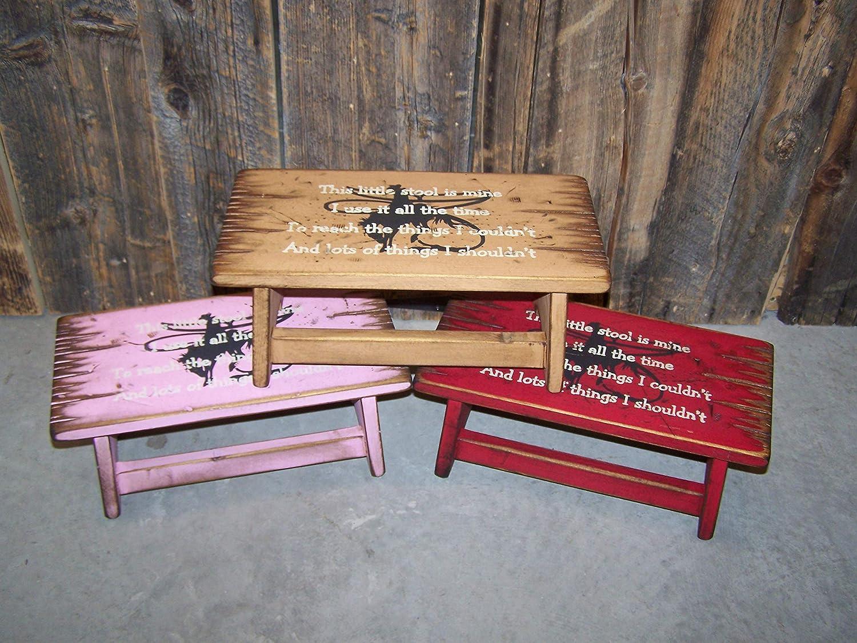 Enjoyable Amazon Com This Little Stool Of Mine Childrens Step Short Links Chair Design For Home Short Linksinfo