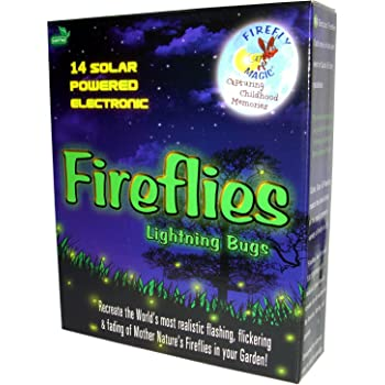 Amazon Com Firefly Magic Solar And Battery Operated