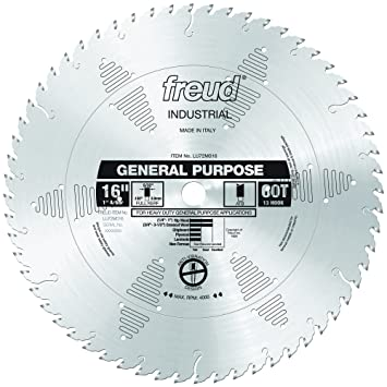 Freud lu72m020 20 inch 72 tooth atb general purpose saw blade with 1 freud lu72m020 20 inch 72 tooth atb general purpose saw blade with 1 inch arbor circular saw blades amazon greentooth Gallery