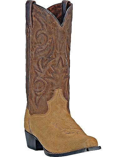 33de1a617e0 Dan Post Men's Gabriel Leather, Suede Western Boots
