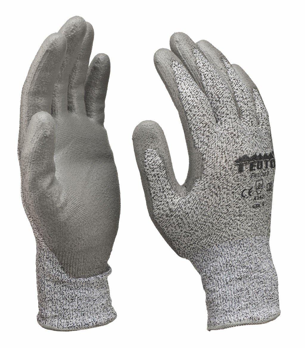 Schnittschutzhandschuhe Arbeitshandschuhe Montagehandschuhe Küchenhandschuhe Schutzklasse 3 Größe 8 / 12 Paar