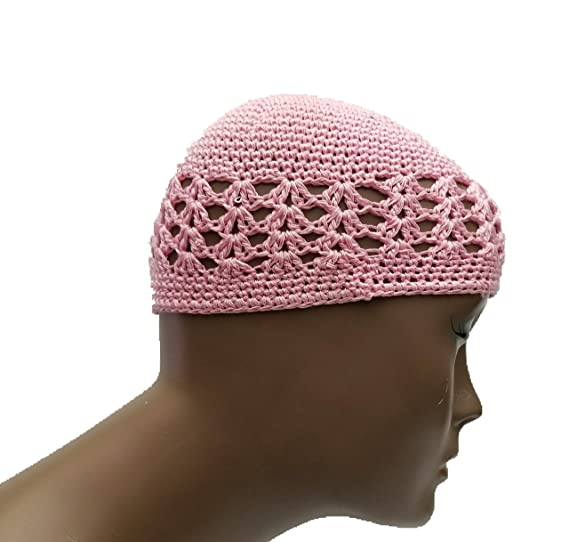 e4bd443a82e4a BUNFIRE Kufi Hat Skull Cap Islamic Muslim Prayer Hat Skull Chemo Cap Beanie  Hats Turban (