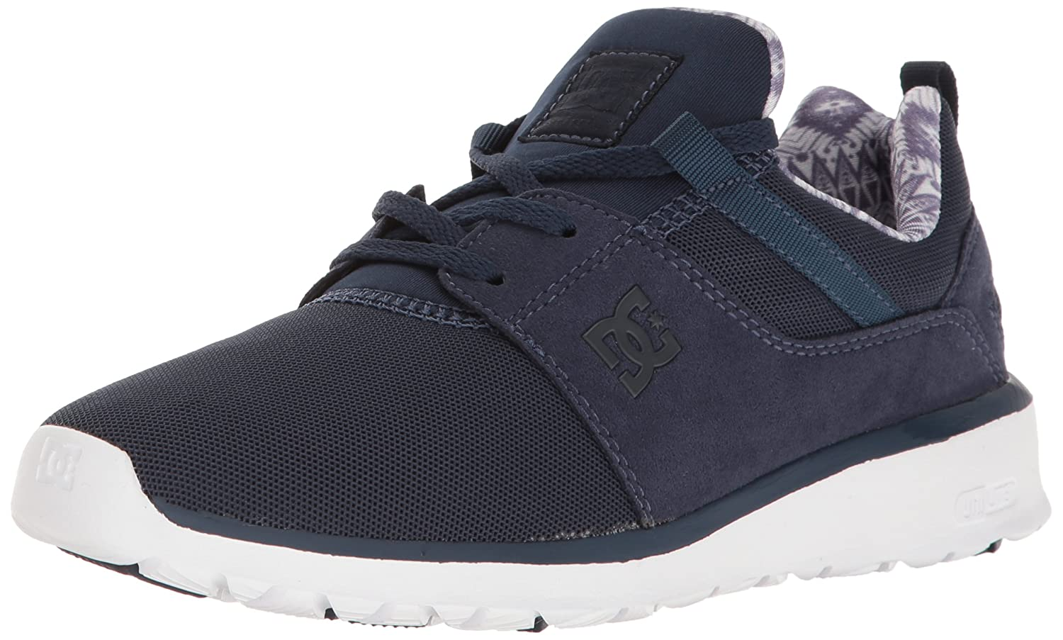 DC Women's Heathrow SE M Skate Shoe B01L3M319K 6.5 M SE US|Navy/Navy 62455a