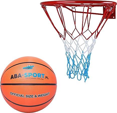 Kimet Baloncesto Cesta con Pelota Outdoor | Canasta de Baloncesto ...