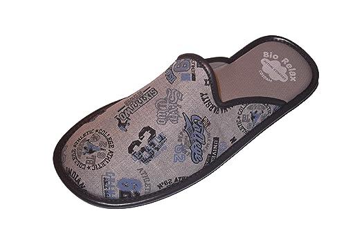 Zapatillas de Estar por casa/Hombre/Chicos Adolescentes/BiorelaxPrimavera-Verano/Gris