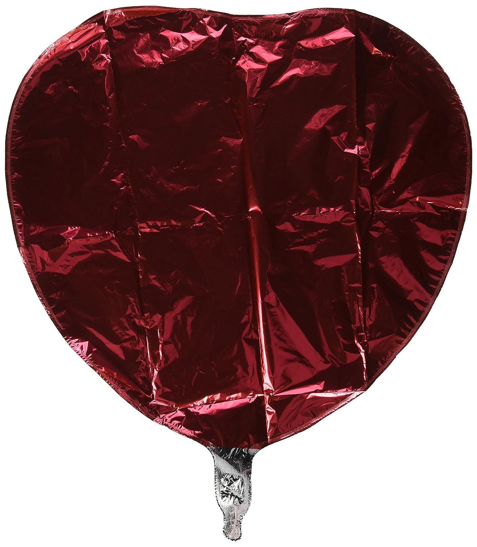 Ruby Red Balloon Qualatex 18 Heart