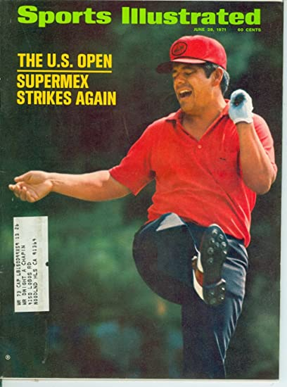 Amazon Com 1971 Sports Illustrated June 28 Lee Trevino Sports Collectibles