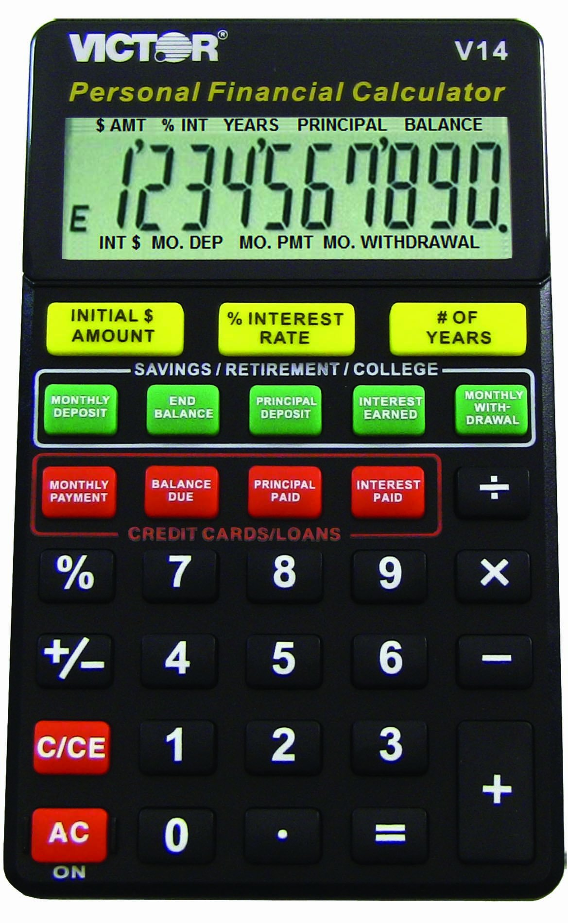 VCTV14 - Victor V14 Personal Financial Calculator for Dummies by Victor