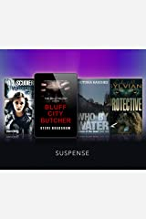 Suspense Anthology: Stories to Keep You on the Edge of Your Seat!: Bluff City Butcher, Protective, Who By Water, Vengeance Kindle Edition