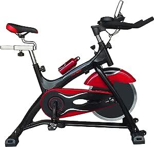 All Fitness Bicicleta Ciclo indoor Power Pro, volante de incercia de 21Kg.Bici estática idel para casa.: Amazon.es: Deportes y aire libre