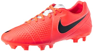 2af77d9a1 Nike Men s CTR360 Libretto III FG Bright Crimson Black Chrome Soccer Cleat  12 Men