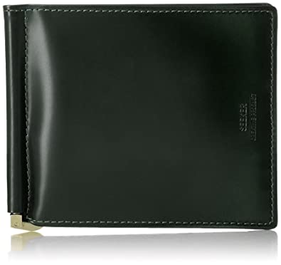 bb3bb4a4b17e [シーカー] マネークリップ SEEKER シーカー カウレザー WALLET 二つ折り SKW-014404 GREEN
