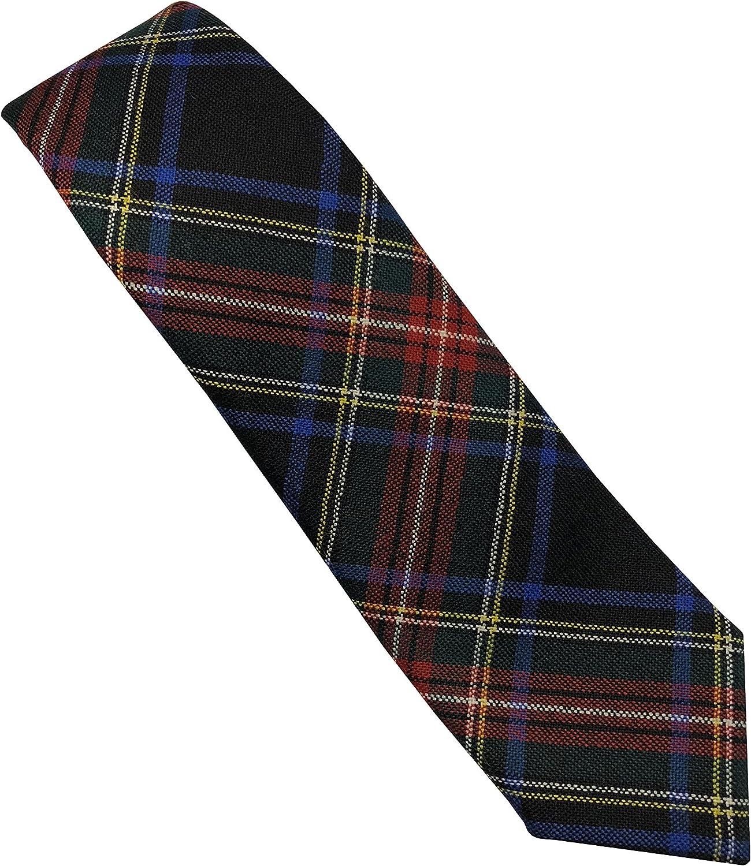 TARTAN TWEEDS Stewart negro Buchan de cordones para las cortinas ...