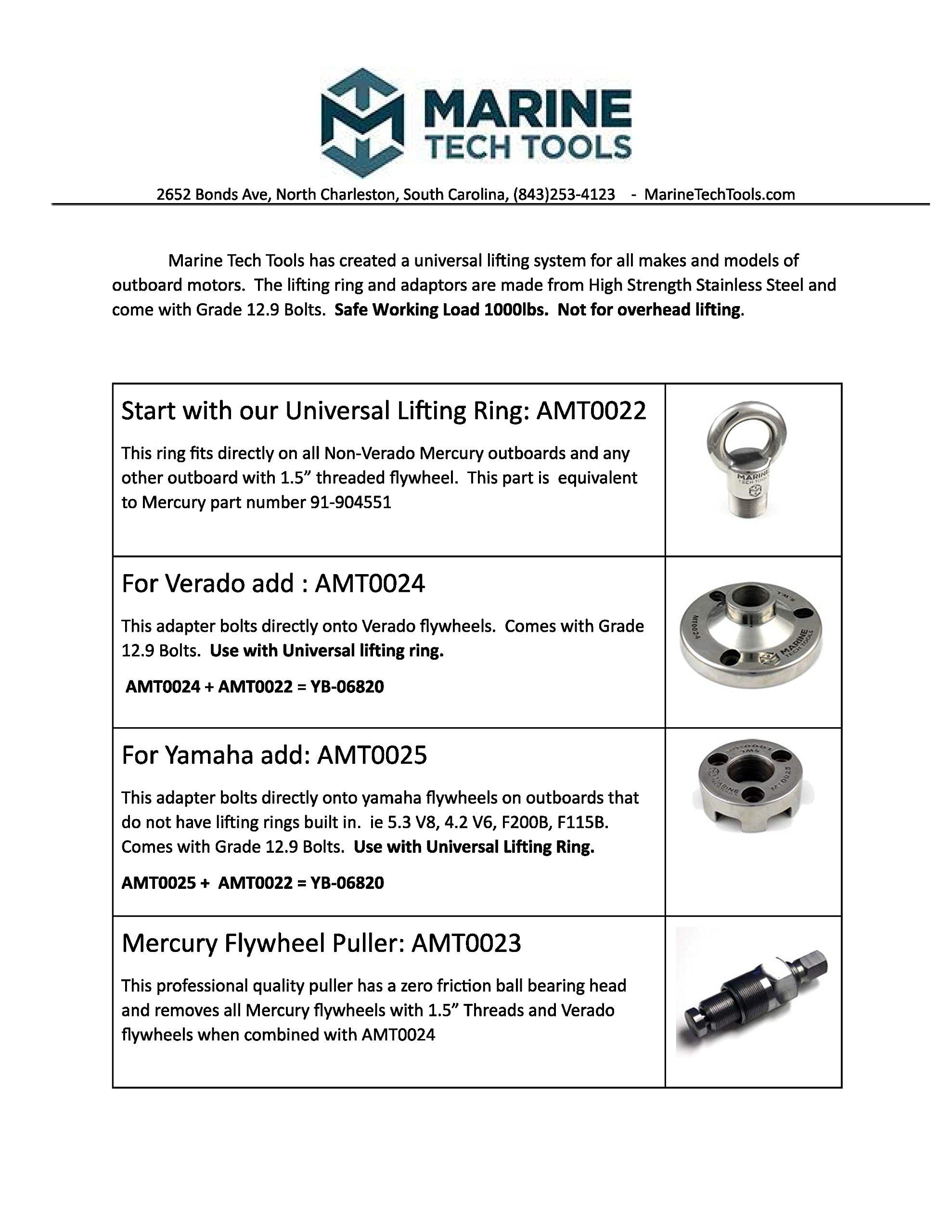 Marine Tech Tools Mercury Lifting Ring by Marine Tech Tools (Image #2)