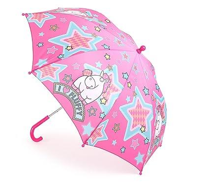 a88027b2cc852 Mercopol Fluffy The Unicorn Umbrella, Multicolour, 68 x 68 x 58 cm:  Amazon.co.uk: Kitchen & Home
