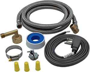 Supplying Demand 6572 Universal Dishwasher Installation Kit Compatible With GE, Frigidiare, Whirlpool, Maytag, Samsung, LG