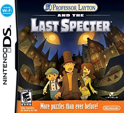 Professor Layton and the Last Specter - Nintendo DS by Nintendo: Amazon.es: Videojuegos