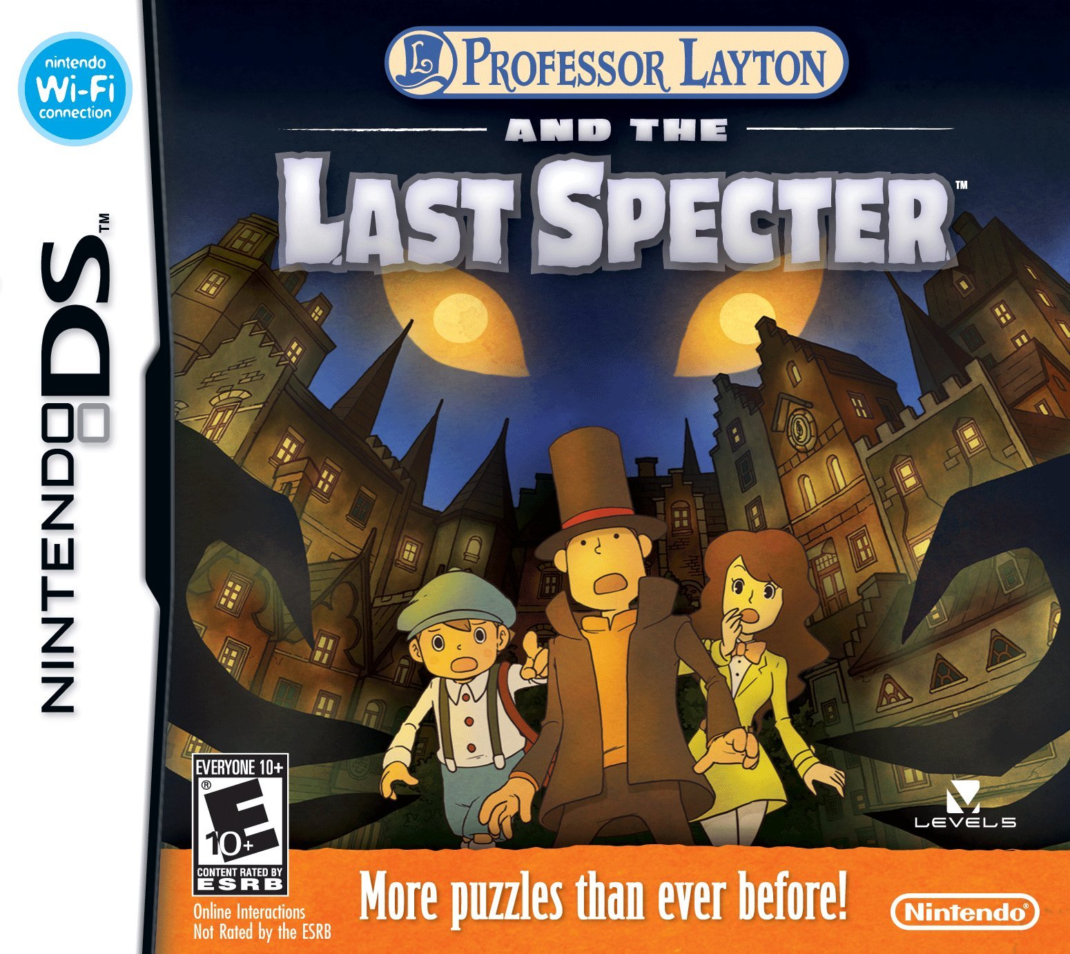 Professor Layton and the Last Specter - Nintendo DS