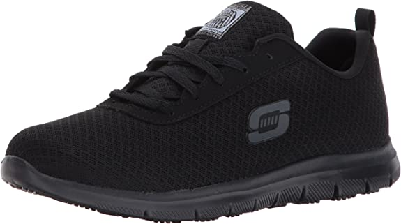4. Skechers Ghenter Bronaugh Work Shoe