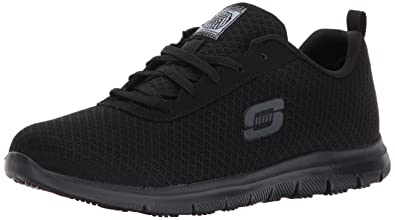skechers non-slip work shoes