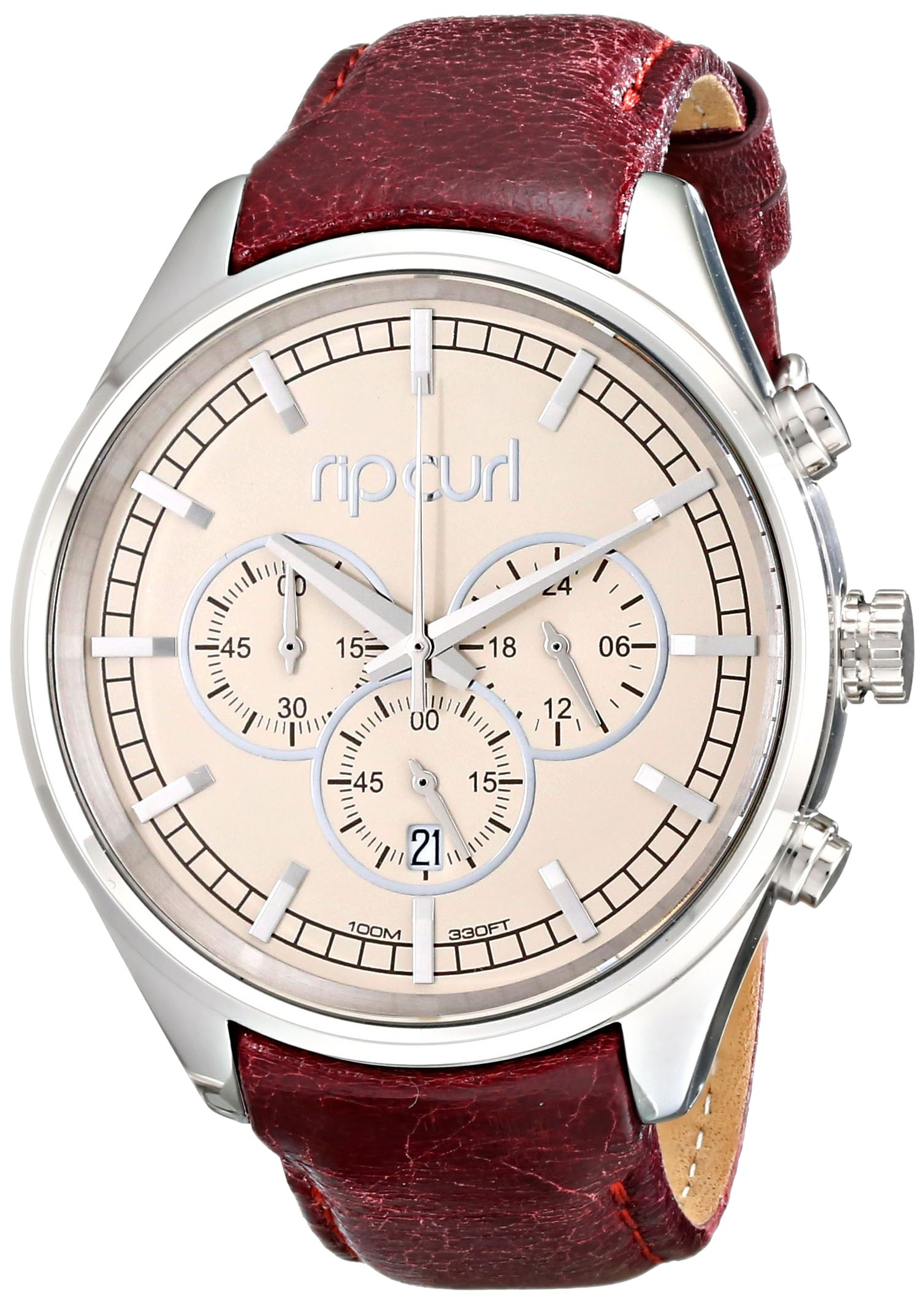 Rip Curl Women's A2741G Analog Display Analog Quartz Brown Watch by Rip Curl