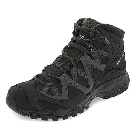 Salomon Shoes Gtx Hiking Men's Buy Suede 9 Black Uk Mid Cagliari B1RpPwn