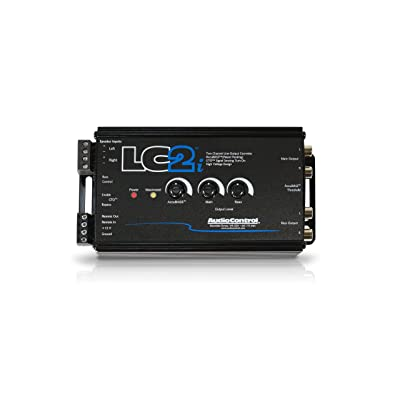 AudioControl LC2i 2 Channel Line Out Converter Wwith AccuBASS and Subwoofer Control: Car Electronics
