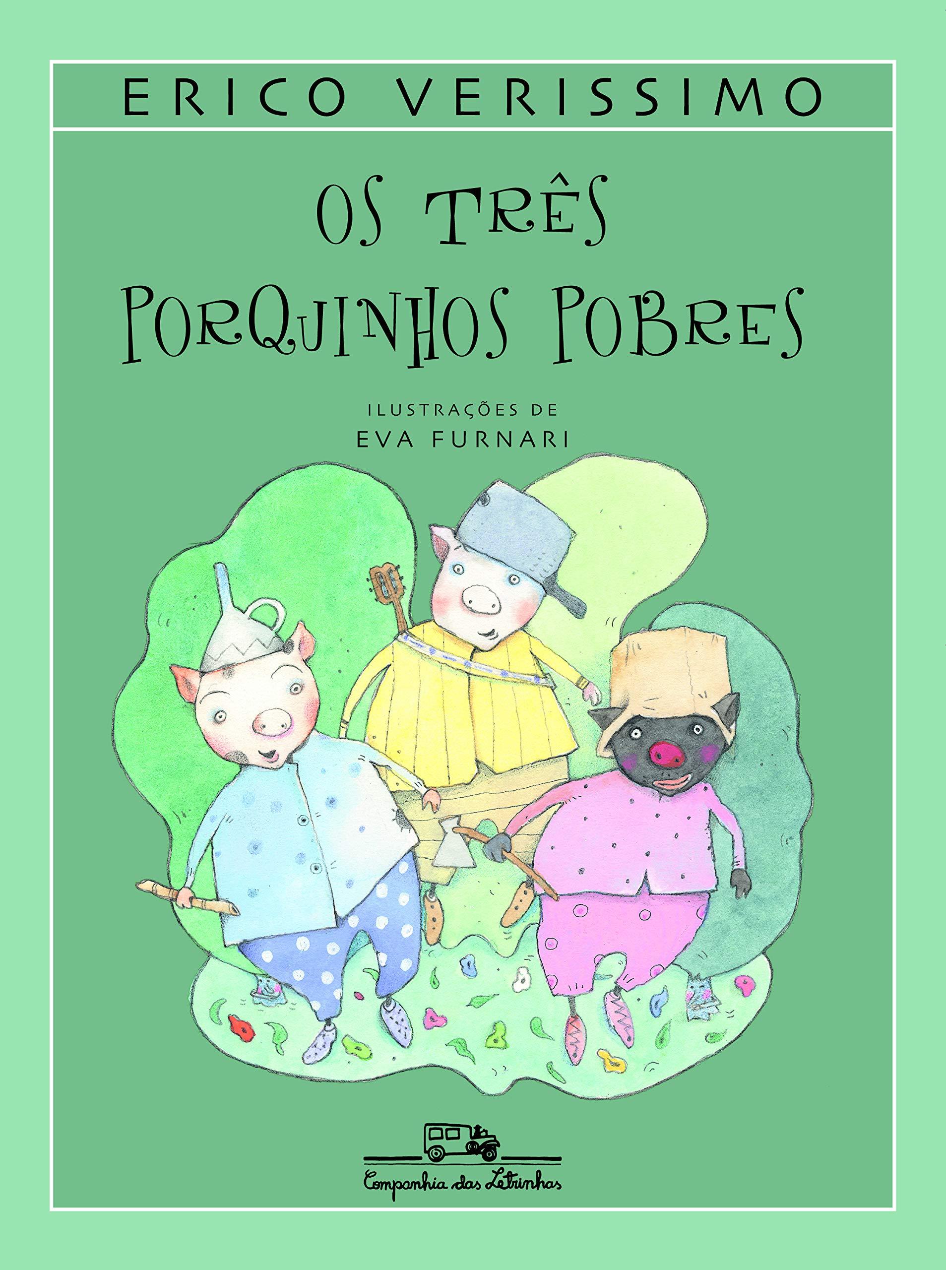 [10000 Impresso √] Os Tres Porquinhos Historia Original