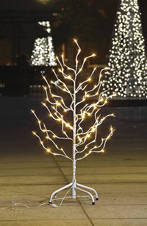 lightshare star tree 112 led lights warm white for home christmas decorations