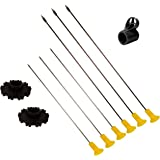 103 Piece .40 Cal Blowgun Dart Kit with Quick Release Quiver's by Venom Blowguns