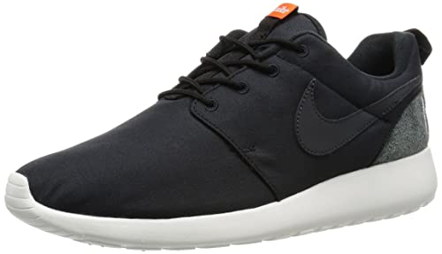 7ee8710941db Image Unavailable. Image not available for. Colour  Nike Men s Roshe One  Retro Black and Grey Running Shoes ...