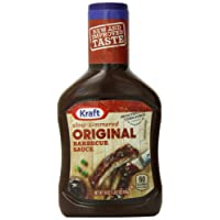 Kraft Barbecue Sauce Slow-Simmered Sauce, Original, 18 Ounce