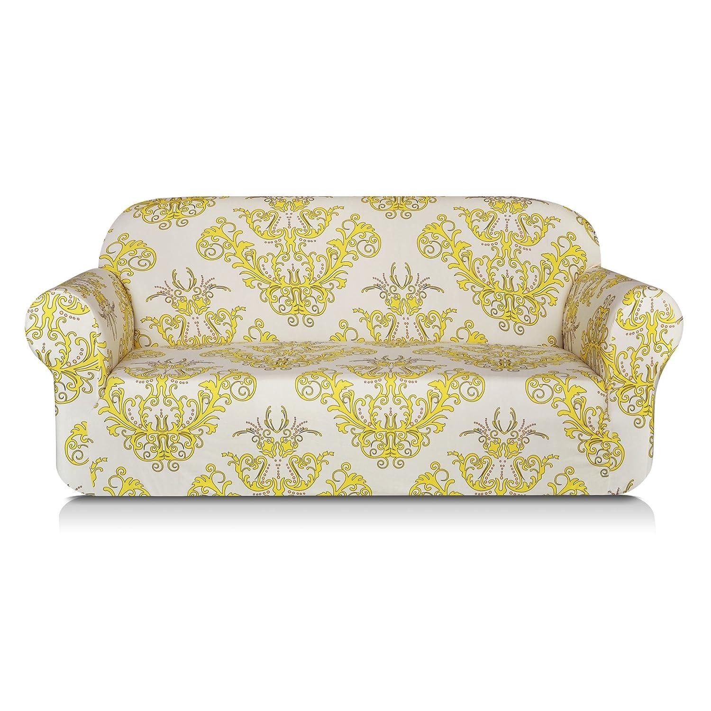 Amazon TIKAMI 1 Piece Spandex Printed Fit Stretch Sofa