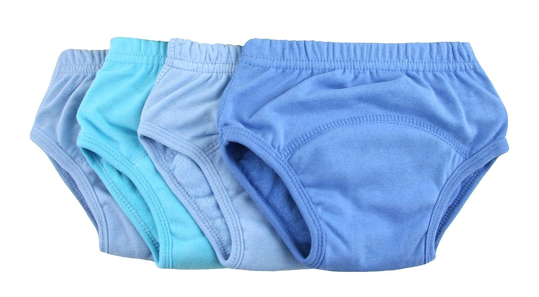 Bright Bots Washable Potty Training Pants 4pk Medium With Pul Waterproof Lining - Boy (approx 18m - 24m) TRA4-BM