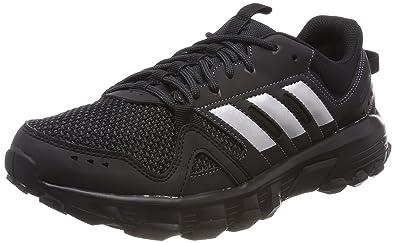 ebaa349df220 adidas Rockadia Trail Mens Running Trainer Shoe Black Silver - US 7.5