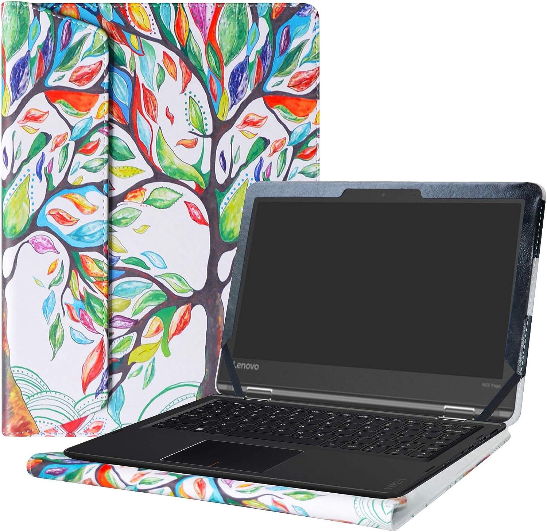 "Alapmk Protective Case Cover for 11.6"" Lenovo Flex 11 CHROMEBOOK/Lenovo N23 Yoga Chromebook/Lenovo ThinkPad 11e Yoga 6th Gen Laptop(Note:Not fit Lenovo N23 Chromebook/N23 Windows Laptop),Love Tree"
